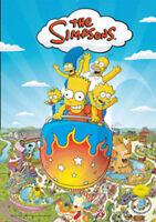 Simpsons - Krustyland Zeichentrick - Film 3D Poster Lenticular - Grösse 47x67 cm