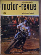 Tschechoslowakische MOTOR REVUE 10-1975 * Rallye-Skoda Pal FIM-Rallye JAWA yezdi