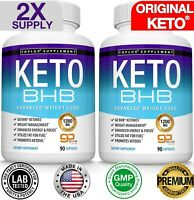 Ultra Fast Keto Diet Pills BHB 1200 MG Weight Loss 180 CAPSULE Ketogenic Burner