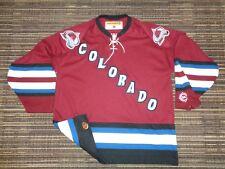 NWOT AUTHENTIC COLORADO AVALANCHE KOHO ALTERNATE NHL HOCKEY GAME SWEATER JERSEY