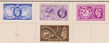 (GBB27) 1940 GB 4set UPU 2½d to1/- (A) M/H