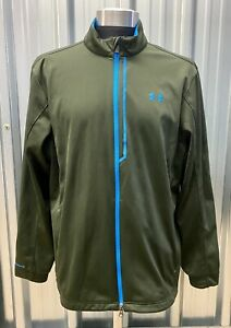 Under Armour Men's Golf Softshell Jacket Cold Gear Size Large Great Condition
