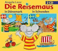 ANGELA LENZ - DIE REISEMAUS: IN DÄNEMARK UND SCHWEDEN (2CD)  2 CD NEU