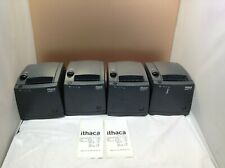 Lot Of 4 Ithaca Itherm Mod 280 Ul 1 Usb Pos Thermal Receipt Printer Tested