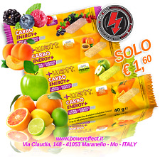 Carbo Energy+ - Barretta energetica al gusto di frutta 40g - +watt