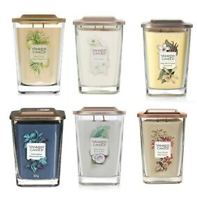 Yankee Candle Elevation Collection Large 2-Wick Square Candle Gift Set - 552g