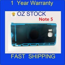 NEW 1x Rear Back Glass Housing Battery Cover Case blue for Samsung Note 5