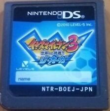 USED soft cartridge only Inazuma Eleven 3 for DS From Japan Free shipping