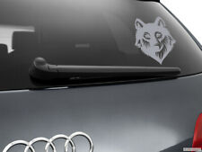 Wolf Werewolf Car Sticker Styling Window Decal, Silver