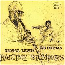 Ragtime Stompers by George Lewis (Clarinet)/Kid Thomas (Jazz) (CD)