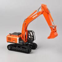 Diexast 1:50 Scale HIACHI ZH200 Orange Shop Truck Excavator Model Car Toy Trucks