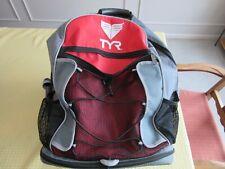 Tyr Transition Backpack, Triathlon, Red/Black/Grey