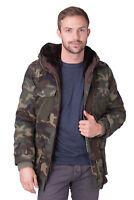 ALESSANDRA CHAMONIX 2in1 Parka Jacket Size 48 / M Rabbit Fur Inside RRP €910