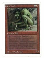 Sedge Troll - UNLIMITED - Old School - MTG Magic The Gathering #02