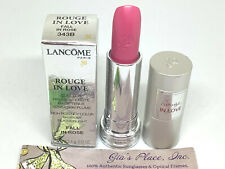 LANCOME #343B ROUGE IN LOVE FALL IN ROSE 6H WEAR FEATHERLIGHT HI-POTENCY COLOR
