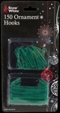 150 med + lg ornament hooks xmas christmas decorations fairy string LED lights