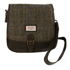Harris Tweed Saddle Bag: Carloway NEW