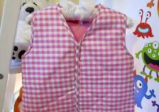 COZY TOUCH Baby Sleeping Bag 0.9 TOG RED & PURPLE CHECK 6-18 MONTHS