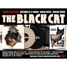 Fabio Frizzi Edgar Allan Poe The Black Cat Vinyl LP X 2 Deluxe Cadabra Limited