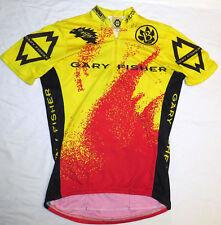 vtg GARY FISHER Cycling Jersey SMALL Rock Shox Salsa Tioga Grip Shirft 90s/00s S