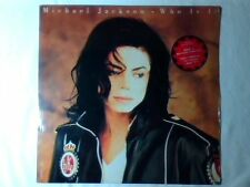 "MICHAEL JACKSON Who is it 12"" SIGILLATO SEALED USA BROTHERS IN RHYTHM MOBY"