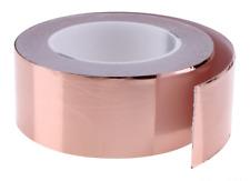 60 mm x 1 Meter selbstklebend Kupferband Kupferfolie EMI 6 cm Schnecken abwehr