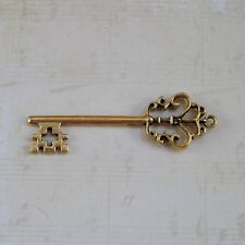 12 Silver gold bronze Old look new antique vintage skeleton keys steampunk craft