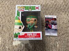 "Funko Pop Bob Newhart ""Papa Elf"" Elf Signed JSA Certificate"