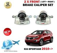 FOR KIA SPORTAGE 1.6 1.7 2.0 CRDI 2010-> 2 X FRONT LEFT RIGHT BRAKE CALIPER SET