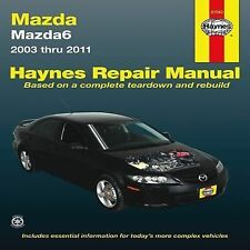 Haynes Mazda6 2003-2011 repair manual