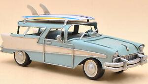 American Classic 1956 56 Chevrolet Nomad V-8 Sport Wagon 1/12 Scale Car Decor