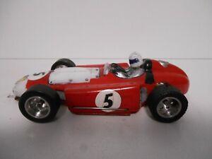 1/24th Lancia - Ferrari F1 lexan body Scratch build Chassis slot car