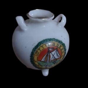 Savoy Porcelain Crested China Ottingdean Crest Pot