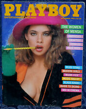 "Magazine PLAYBOY November 1985 !TERI WEIGEL! STING ""PAMELA SAUNDERS-CENTERFOLD"""