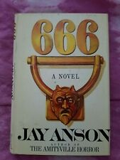 Six Six Six by Jay Anson 1st (1981, Hardcover) Horror