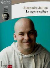 ALEXANDRE JOLLIEN*LA SAGESSE ESPIÈGLE*NEUF SS FILM2019*1CD MP3*TEXTE INTÉGRAL*5H