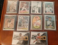 MLB Baseball Mystery Cards ! 1 On Card Auto +1 #'d Card +5 Inserts +6 Rookies