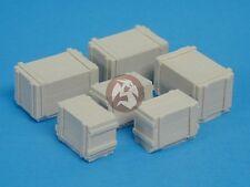Tank Workshop 1/35 Wooden Crates (3 Medium sized & 3 Large sized) [Resin] 354015