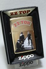 "Zippo  ""ZZ TOP"" - Messing poliert - COLLECTION 2020 - NEU - #706"