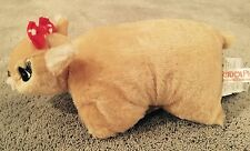 New 50Th Anniversary Clarice From Rudolph Fold Up Plush Pillow Pet