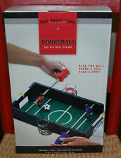 "Boozeball Drinking Game Table Balls Shot Glasses Guy Gift CHRISTMAS 17""X15"" NIB"
