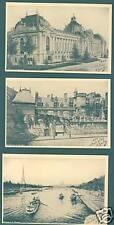 Paris Collection des 12 Cartes Postales (f2256)