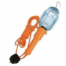 Silverline Work Light with 5 Metre Cable, Metal Hanging Hook. 60W 230V. 834773