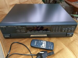 Technics Compact Disk Changer SL-PD9 with Remote 5 Disc Changer