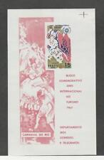 Brazil, Postage Stamp, #1070a Sheet Mint NH, 1967 Carnival