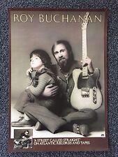 "ROY BUCHANAN-"" A Street Called Straight""-Orig-'76-Store Poster 26""x18""-Atlantic"