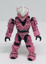 "Mega Bloks Halo mini figure series 2 Pink Hayabusa 3"" action figure"