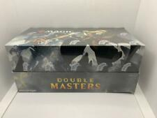 MAGIC: THE GATHERING MTG DOUBLE MASTERS DRAFT BOOSTER BOX 24 PACKS 2 BOX TOPPERS