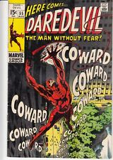 Daredevil #55 (Aug 1969, Marvel) Mr. Fear 8.5 VF+