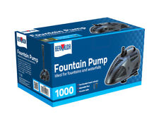 Garden Water Fountain & Accessories 1000 lts per Hour Suitable For All Ponds